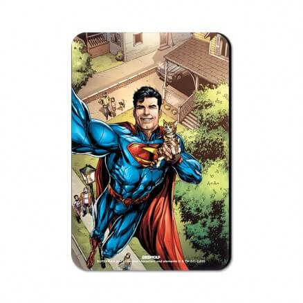 Superman Selfie - Superman Official Fridge Magnet