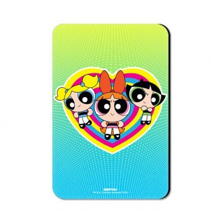 The Powerpuff Girls: Classic - The Powerpuff Girls Official Fridge Magnet