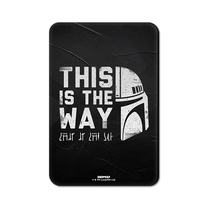 This Is The Way - Star Wars Official Fridge Magnet