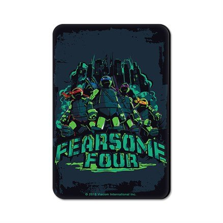 Fearsome Four - TMNT Official Fridge Magnet
