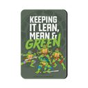 Lean, Mean & Green - TMNT Official Fridge Magnet