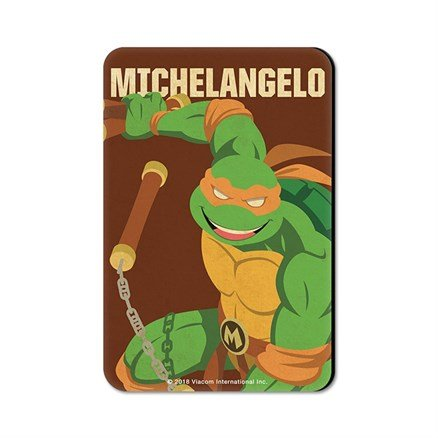 Michelangelo - TMNT Official Fridge Magnet