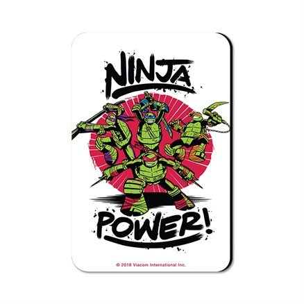 Ninja Power - TMNT Official Fridge Magnet