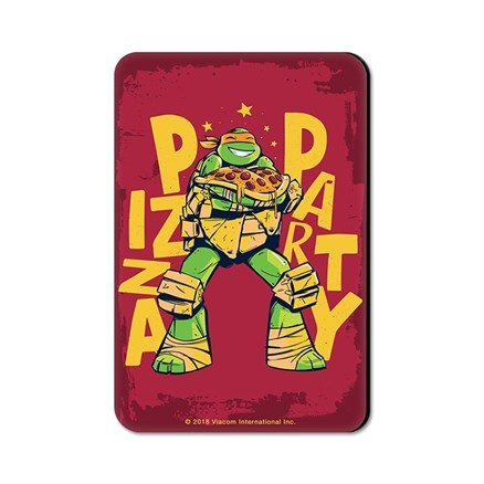 Pizza Party - TMNT Official Fridge Magnet