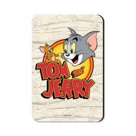Tom & Jerry: Classic Logo - Tom & Jerry Official Fridge Magnet