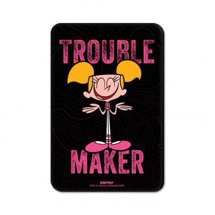 Troublemaker - Dexter's Laboratory Official Fridge Magnet