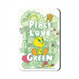 Tweety: Peace - Looney Tunes Official Fridge Magnet