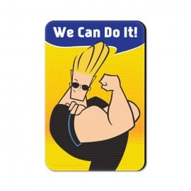 We Can Do It - Johnny Bravo Official Fridge Magnet
