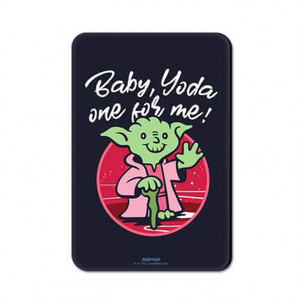 Yoda One For Me - Star Wars Official Fridge Magnet