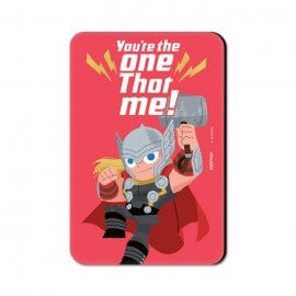 You're The One Thor Me - Marvel Official Fridge Magnet