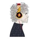Overload Flash - Official DC Comics Wired Headphones