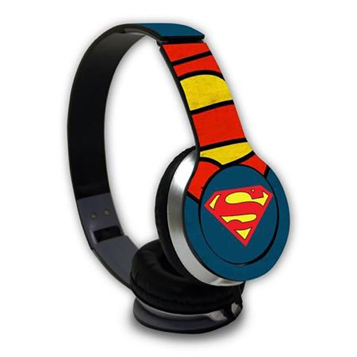 Superman: Logo - Official DC Comics Wired Headphones