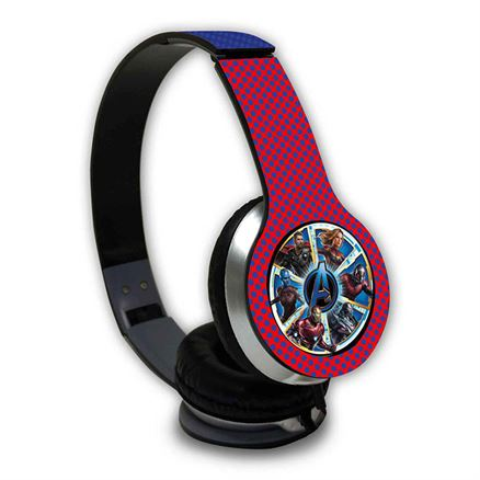 Avengers Endgame: Ensemble - Official Marvel Wired Headphones
