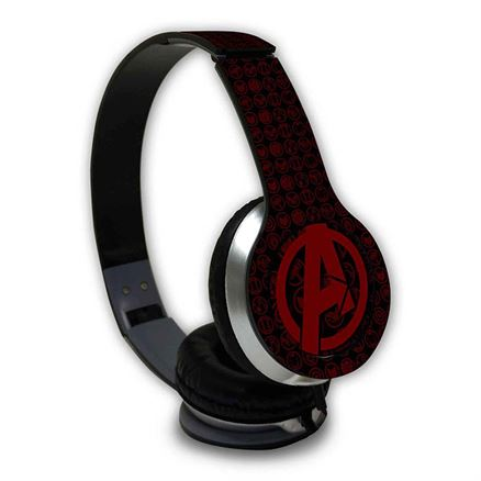 Endgame Icon: Logo - Official Marvel Wired Headphones
