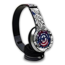 Captain America: Shield - Official Marvel Wired Headphones
