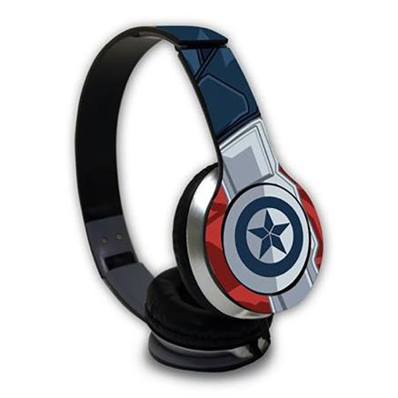 Captain America: Suit up  - Official Marvel Wired Headphones