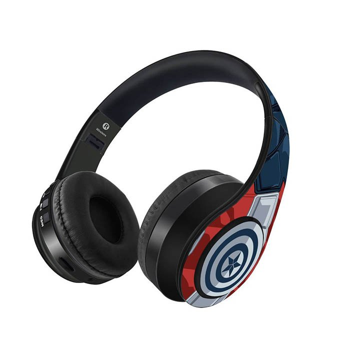 Captain America: Suit up - Official Marvel Wireless Headphones