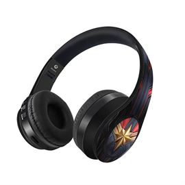 Suit up Captain Marvel - Official Marvel Wireless Headphones