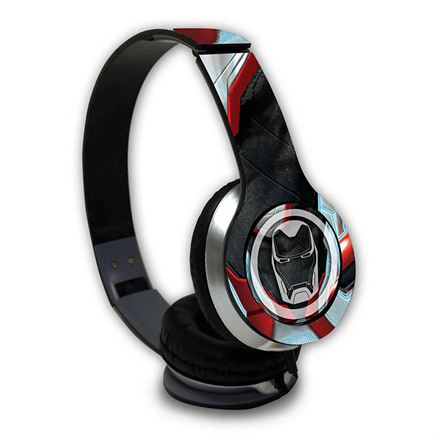 Endgame Suit: Ironman - Official Marvel Wired Headphones