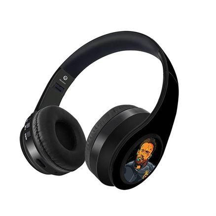 ABD: Splash Illustration - Official Royal Challengers Bangalore Wireless Headphones