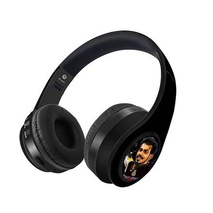 Splash Illustration: Chahal - Official Royal Challengers Bangalore Wireless Headphones