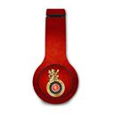RCB Emblem - Official Royal Challengers Bangalore Wired Headphones