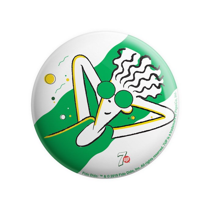 Chiller - Fido Dido Official Badge