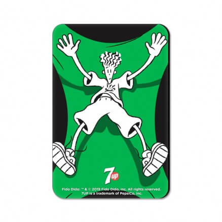 Free Fall - Fido Dido Official Fridge Magnet