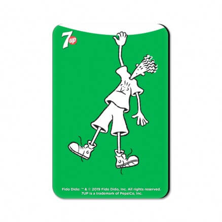 Hang On - Fido Dido Official Fridge Magnet