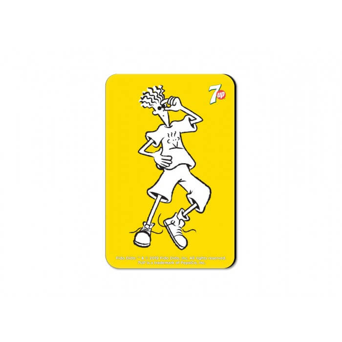 King Of Chill - Fido Dido Official Fridge Magnet