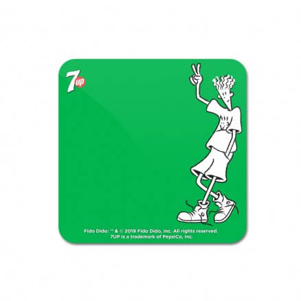 Peace Out - Fido Dido Official Coaster