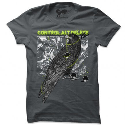 Control ALT Delete 12 T-shirt [Pre-order - Ships on 29th January]