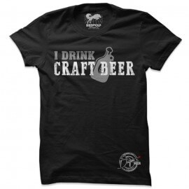 I Drink Craft Beer - Drifters Official T-shirt