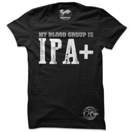 My Blood Group Is IPA+ - Drifters Official T-shirt