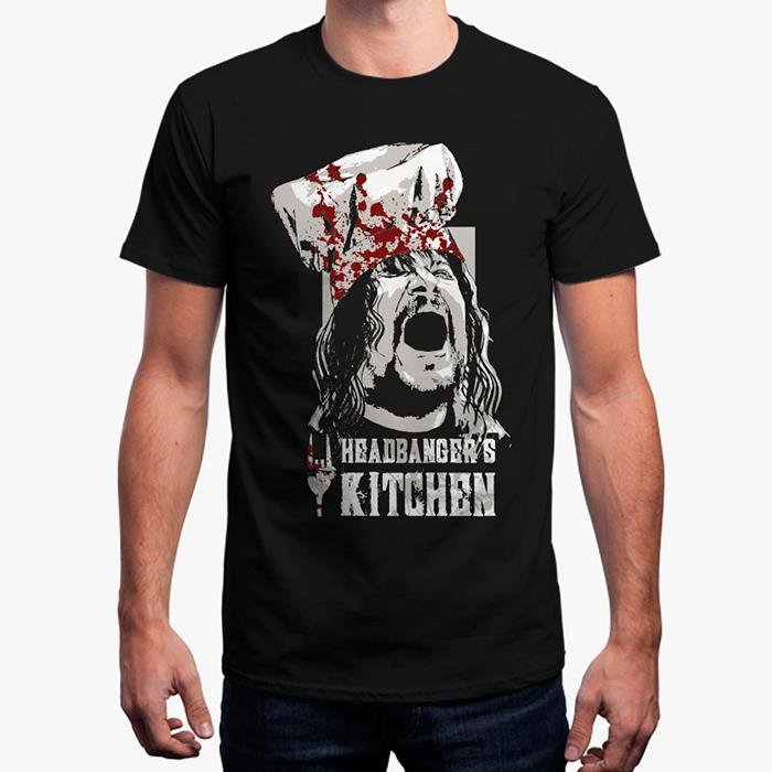 Headbanger's Kitchen Official T-Shirt