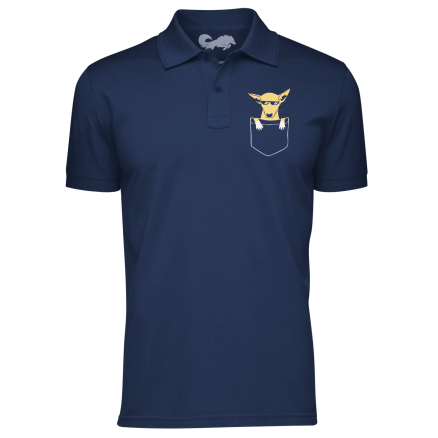Kanta Polo Shirt - Navy Blue