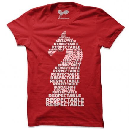 Ghoda Respectable (Red) - T-shirt