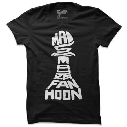 Mai Samay Ka Fan Hoon (Black) - T-shirt