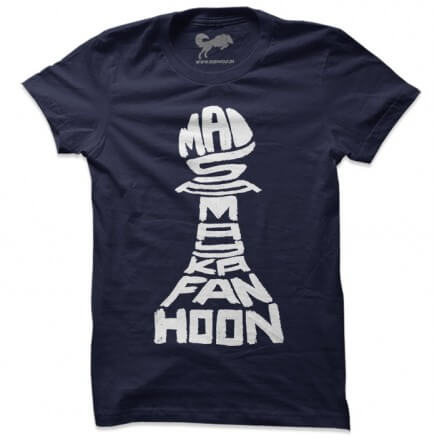 Mai Samay Ka Fan Hoon (Navy) - T-shirt