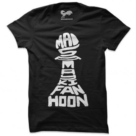 Mai Samay Ki Fan Hoon (Black) - T-shirt