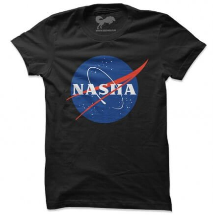 Nasha (Black) - T-shirt