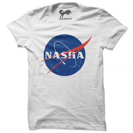 Nasha (White) - T-shirt