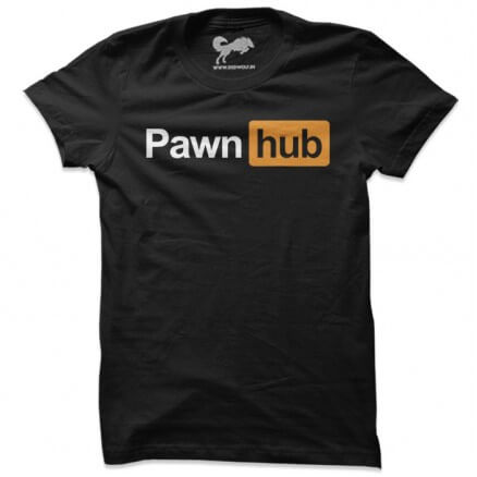 Pawn Hub (Black) - T-shirt
