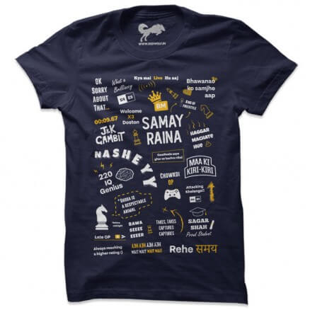 Ultimate Fan (Navy) - T-shirt