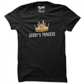Daddy's Princess (Black) - T-shirt