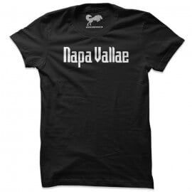 Napa Vallae (Black & White) - T-shirt