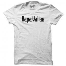 Napa Vallae (White & Black) - T-shirt