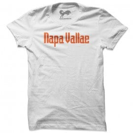 Napa Vallae (White & Orange) - T-shirt