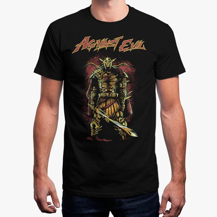 Against Evil: All Hail The King T-Shirt + Digital Download [Pre order - Ships 2nd April 2018]