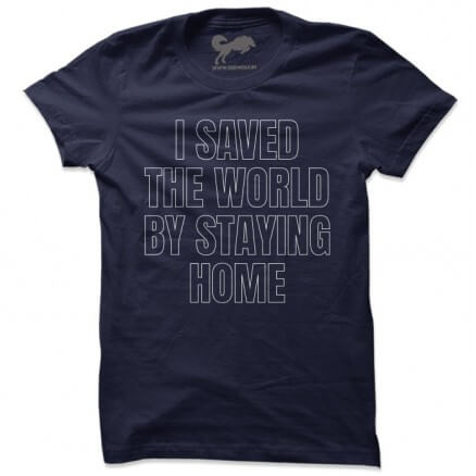 Saved The World - T-shirt